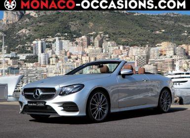 Vente Mercedes Classe E Cabriolet 200 197ch AMG Line 9G-Tronic Euro6d-T-EVAP-ISC Neuf