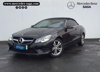 Vente Mercedes Classe E Cabriolet 220 BlueTEC Executive 9G-TRONIC Occasion