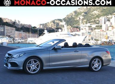 Vente Mercedes Classe E Cabriolet 220 CDI Sportline 7GTronic+ Occasion