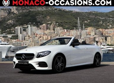 Vente Mercedes Classe E Cabriolet 220 d 194ch AMG Line 9G-Tronic Occasion