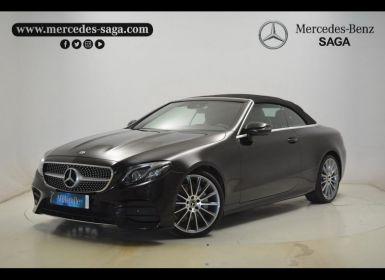 Acheter Mercedes Classe E Cabriolet 220 d 194ch Sportline 9G-Tronic Occasion