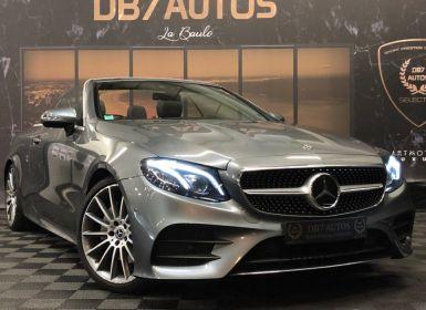 Vente Mercedes Classe E CABRIOLET 220 d 9G-Tronic Occasion
