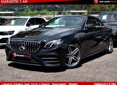Achat Mercedes Classe E Cabriolet 220 D AMG LINE 9G-TRONIC Occasion