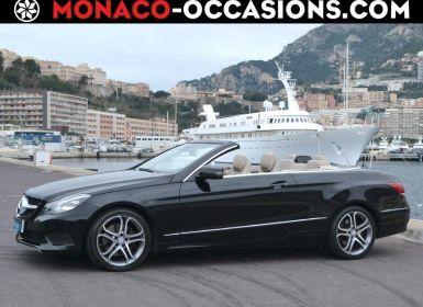 Vente Mercedes Classe E Cabriolet 250 211ch 7G-TRONIC PLUS Occasion