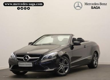 Mercedes Classe E Cabriolet 250 CDI Executive 7GTronic+ Occasion