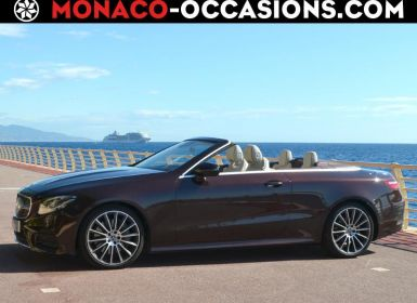 Voiture Mercedes Classe E Cabriolet 300 245ch AMG Line 9G-Tronic Occasion