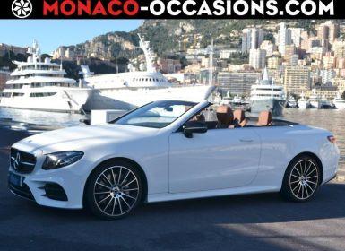 Vente Mercedes Classe E Cabriolet 300 245ch Sportline 9G-Tronic Occasion