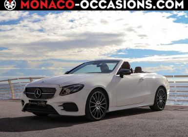 Vente Mercedes Classe E Cabriolet 300 258ch AMG Line 9G-Tronic Euro6d-T-EVAP-ISC Occasion