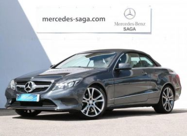 Vente Mercedes Classe E Cabriolet 350 BlueTEC Fascination 7GTronic+ Occasion