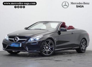 Vente Mercedes Classe E Cabriolet 350 BlueTEC Fascination 9G-TRONIC Occasion