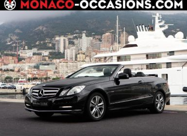 Achat Mercedes Classe E Cabriolet 350 CDI Executive BE BA Occasion
