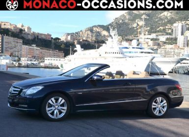 Voiture Mercedes Classe E Cabriolet 350 CGI BE 306ch Executive BA Occasion