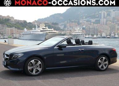 Vente Mercedes Classe E Cabriolet 350 d 258ch Executive 4Matic 9G-Tronic Occasion