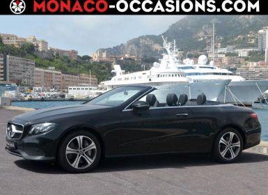 Vente Mercedes Classe E Cabriolet 350 d 258ch Executive 4Matic 9G-Tronic Neuf
