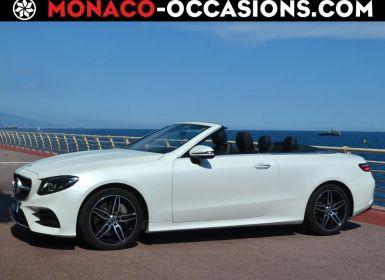 Voiture Mercedes Classe E Cabriolet 350 d 258ch Fascination 4Matic 9G-Tronic Occasion