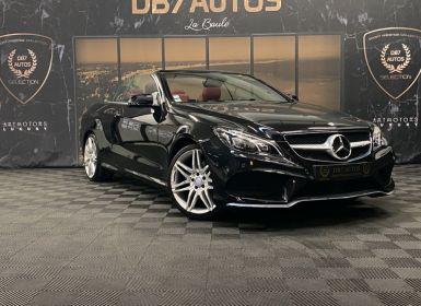 Vente Mercedes Classe E CABRIOLET 350 Fascination A Occasion