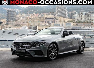 Achat Mercedes Classe E Cabriolet 450 367ch Sportline 4Matic 9G-Tronic Euro6d-T Occasion