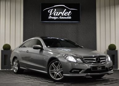 Vente Mercedes Classe E CLASSE E350 CGI COUPE W207 3.5l V6 ESSENCE 292ch PACK AMG 2EME MAIN HISTORIQUE COMPLET Occasion