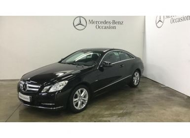 Achat Mercedes Classe E Coupe 220 CDI BE Occasion