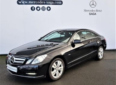 Acheter Mercedes Classe E Coupe 220 CDI BE Executive 7GTro+ Occasion