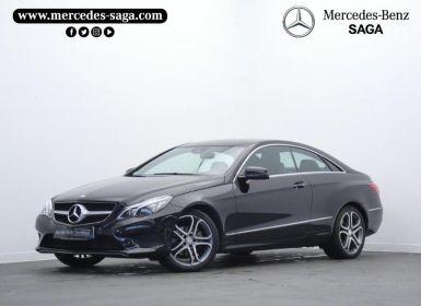 Vente Mercedes Classe E Coupe 220 CDI Executive 7GTronic+ Occasion