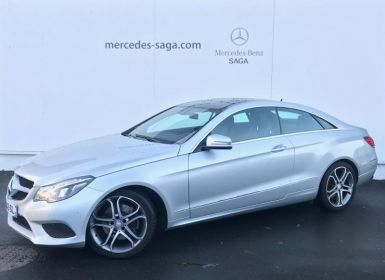 Acheter Mercedes Classe E Coupe 220 CDI Fascination 7GTronic+ Occasion