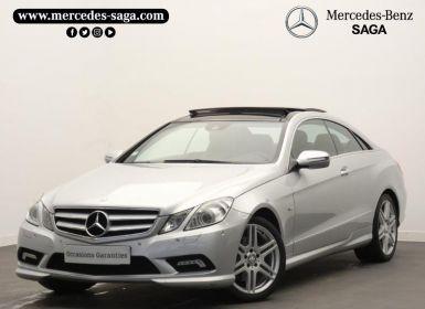 Vente Mercedes Classe E Coupe 350 CDI Executive BE BA Occasion