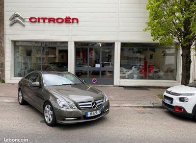 Vente Mercedes Classe E E250 CGI coupé full options 204 cv 1 ère main 35000 kms d'origine Occasion