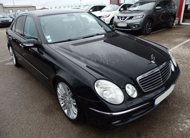 Voiture Mercedes Classe E (W211) 280 CDI V6 ELEGANCE EDITION 4 MATIC BA Occasion