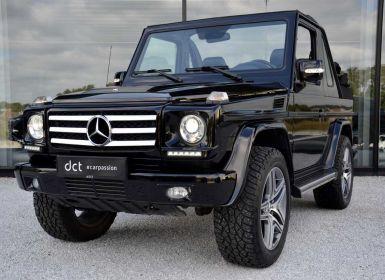 Achat Mercedes Classe G 320 Cabrio Heated Seats 20' alu Xenon Navi Leather Occasion