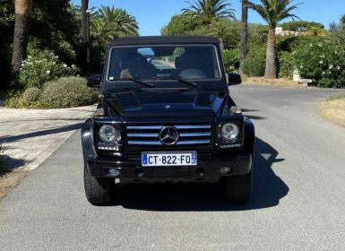 Vente Mercedes Classe G 500 Cabriolet 7G-Tronic + Occasion