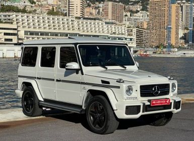 Vente Mercedes Classe G G63 AMG – 35.500 kms Occasion