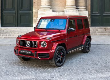 Achat Mercedes Classe G G63 AMG *Candy Red* Occasion