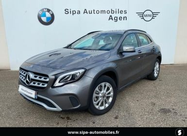 Achat Mercedes Classe GLA 180 d Inspiration 7G-DCT Occasion