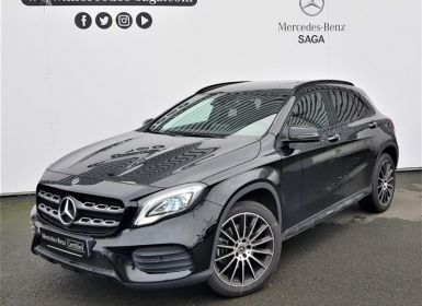 Achat Mercedes Classe GLA 220 d WhiteArt Edition 7G-DCT Occasion