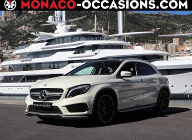 Achat Mercedes Classe GLA 45 AMG 4Matic Speedshift DCT Occasion