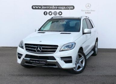 Vente Mercedes Classe ML 350 BlueTEC Fascination 7G-Tronic + Occasion