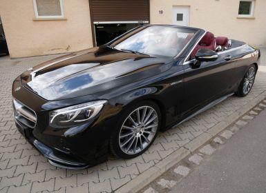 Mercedes Classe S 500 Cabriolet AMG Line, Pack Exclusif, Pack Carbone, Affichage tête haute, Distronic, Caméra 360°, MALUS PAYÉ Occasion