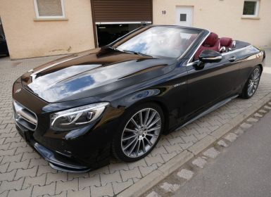 Voiture Mercedes Classe S 500 Cabriolet AMG Line, Pack Exclusif, TV, Caméra 360°, Carbone, Distronic Occasion