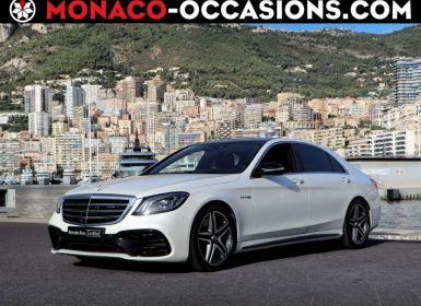 Vente Mercedes Classe S 63 AMG 4Matic+ Long Occasion
