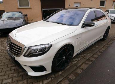Vente Mercedes Classe S 63 AMG 4MATIC Longue, Pack ext./int. carbone, Freins céramiques, Magic Sky, Prix neuf 240K€, MALUS PAYÉ Occasion