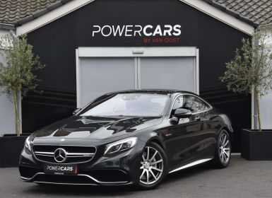 Vente Mercedes Classe S 63 AMG COUPE | 4-MATIC | V8 | EXCLUSIEF PACK | Occasion
