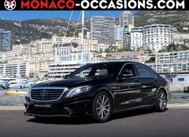 Vente Mercedes Classe S 63 AMG L 4Matic Speedshift MCT AMG Occasion