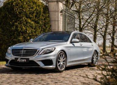 Vente Mercedes Classe S 63 AMG LONG - 4MATIC - FULL OPTION - BELG - 1 OWNER Occasion