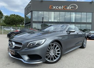 Achat Mercedes Classe S CABRIOLET 500 9G-TRONIC Occasion