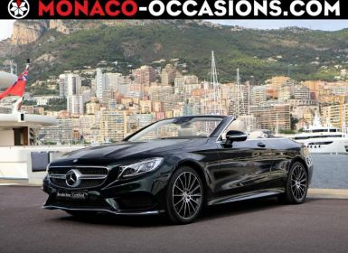 Vente Mercedes Classe S Cabriolet 500 9G-Tronic Occasion