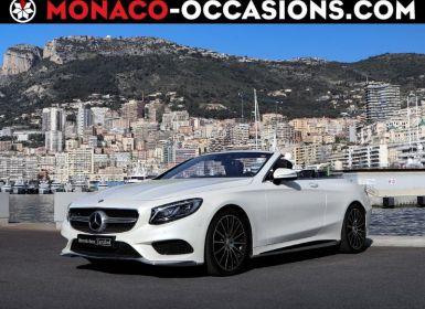 Vente Mercedes Classe S Cabriolet 500 9G-Tronic Occasion