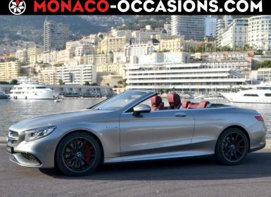 Voiture Mercedes Classe S Cabriolet 63 AMG 4Matic Edition 163 Occasion