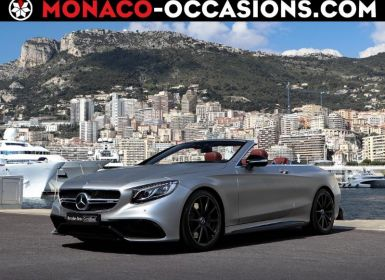 Vente Mercedes Classe S Cabriolet 63 AMG 4Matic Speedshift MCT AMG Occasion
