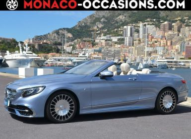 Achat Mercedes Classe S Cabriolet 650 Maybach 7G-Tronic Plus Occasion